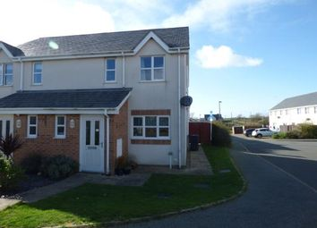 Thumbnail 3 bed semi-detached house for sale in Bro Llechylched, Bryngwran, Holyhead, Sir Ynys Mon