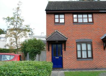 Thumbnail 2 bed end terrace house for sale in Wheeler Close, Lutterworth