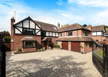Thumbnail 6 bed detached house for sale in Holly Hill Lane, Sarisbury Green, Southampton
