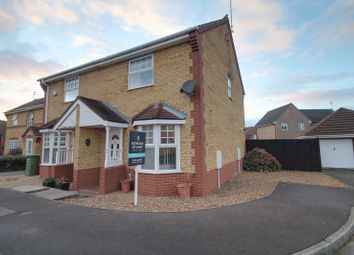 Thumbnail 2 bed semi-detached house for sale in Fairchild Way, Dogsthorpe, Peterborough