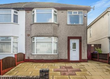 Thumbnail 3 bed semi-detached house for sale in Rudston Road, Liverpool, Merseyside, Uk