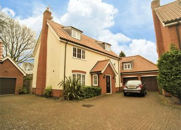 Thumbnail 5 bed detached house for sale in Mill Close, Shipdham, Thetford, Norfolk