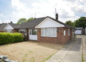 Thumbnail 3 bed semi-detached bungalow to rent in Twyford Avenue, Raunds, Northamptonshire