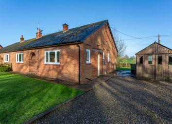 Thumbnail 3 bed semi-detached bungalow to rent in Shavington Bungalows, Market Drayton, Shropshire