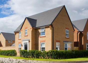"Thumbnail 4 bed detached house for sale in ""Hollinwood"" at Warkton Lane, Barton Seagrave, Kettering"