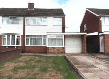 Thumbnail 3 bed semi-detached house to rent in Mount Crescent, Kirkby, Liverpool
