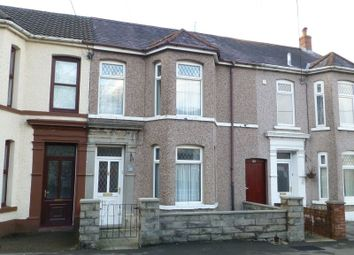 Thumbnail 4 bed terraced house for sale in Maesquarre Road, Betws, Ammanford, Carmarthenshire.