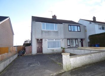 Thumbnail 2 bed semi-detached house for sale in Tan Y Bryn, Valley, Holyhead, Anglesey