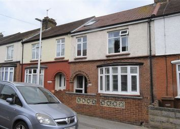Thumbnail 4 bed terraced house for sale in Maple Avenue, Gillingham