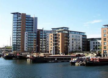Thumbnail 2 bed flat to rent in Boardwalk Place, Boardwalk Place