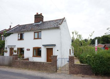 Thumbnail 2 bed semi-detached house for sale in Mill Road, Kirby Cane, Bungay