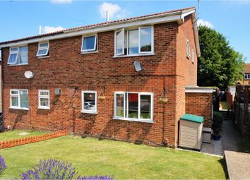 Thumbnail 1 bed semi-detached house for sale in Chaffinch Close, Chatham