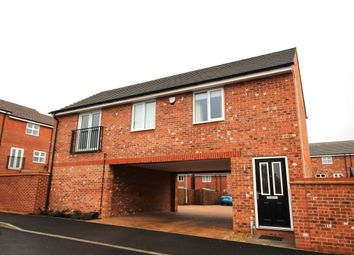Thumbnail 2 bedroom flat for sale in Sansome Drive, Hinckley