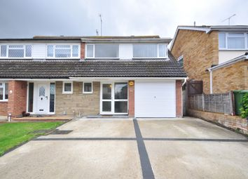 Thumbnail 4 bed semi-detached house to rent in Belmont Close, Wickford
