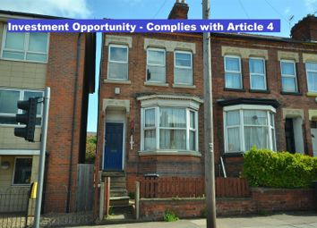 4 bed terraced house for sale in Welford Road, Knighton Fields, Leicester LE2