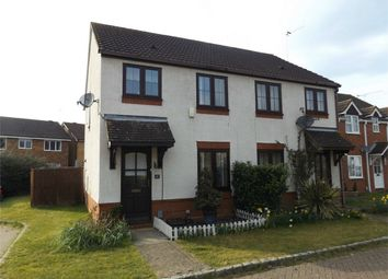 Thumbnail 2 bed semi-detached house to rent in Bergenia Court, West End, Surrey