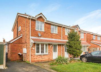 3 bed semi-detached house for sale in Rosecroft Gardens, Swadlincote, Derbyshire DE11