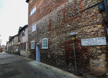 Thumbnail 1 bedroom flat for sale in Guildhall Street, Bury St Edmunds, Suffolk