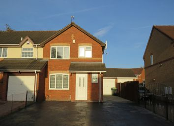 Thumbnail 3 bedroom semi-detached house for sale in Peake Drive, Tipton