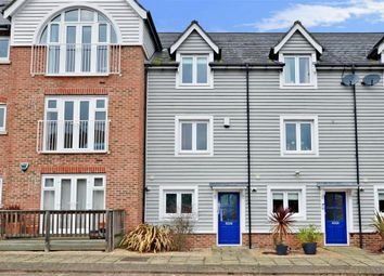 Thumbnail 3 bed town house for sale in The Lakes, Larkfield, Aylesford, Kent