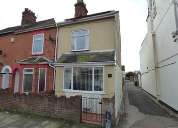 Thumbnail 3 bed end terrace house for sale in Oxford Road, Lowestoft
