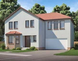 Thumbnail 4 bed detached house for sale in The Kelburn, Almond Crescent, Huntingtowerfield, Perth