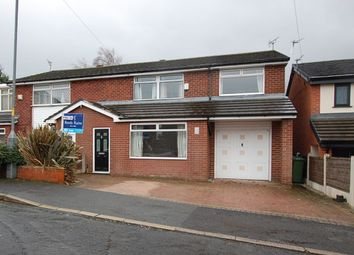 Thumbnail 4 bed semi-detached house for sale in Balmoral Drive, Stalybridge
