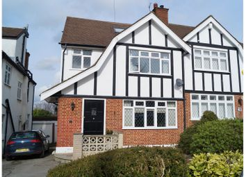 Thumbnail 4 bed semi-detached house for sale in Ashurst Road, Barnet