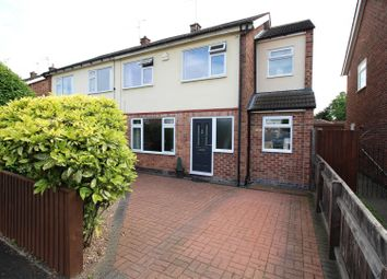 Thumbnail 4 bed semi-detached house for sale in Scott Avenue, Beeston, Nottingham