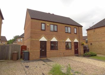 Thumbnail 2 bed semi-detached house for sale in Rudkin Drive, Sleaford