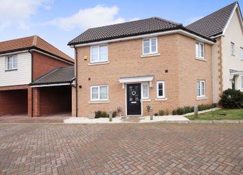 Thumbnail 3 bed terraced house for sale in Roedean Crescent, Dunton Fields, Laindon