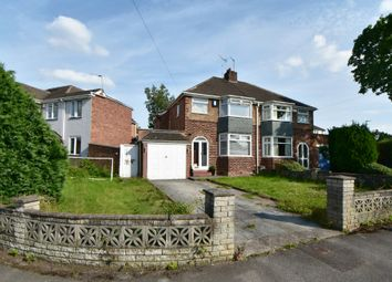 Thumbnail 3 bed semi-detached house for sale in Geoffrey Road, Shirley, Solihull