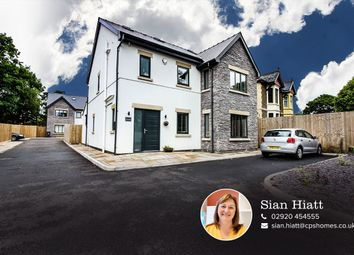 Thumbnail 4 bed detached house for sale in Ty Glas Road, Llanishen, Cardiff