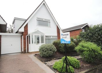 Thumbnail 3 bedroom detached house for sale in Yarnfield Close, Longton, Stoke-On-Trent