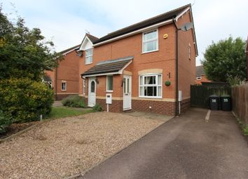 Thumbnail 2 bed semi-detached house for sale in Lonsdale Drive, Toton