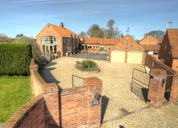 Thumbnail 5 bed farmhouse for sale in Upper Row, Dunham-On-Trent, Newark