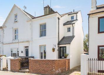 Thumbnail 3 bed end terrace house for sale in Park Terrace West, Horsham, West Sussex