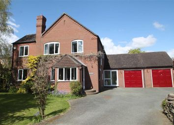 Thumbnail 4 bed detached house for sale in Coedlan, Coedway, Shrewsbury
