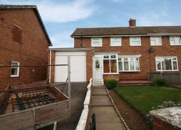 Thumbnail 3 bed semi-detached house for sale in Mullroy Road, Hartlepool, Cleveland