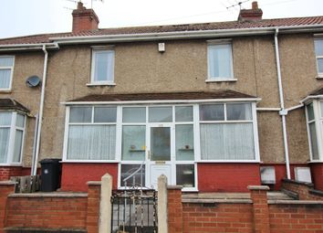 Thumbnail 3 bed terraced house for sale in Glenfrome Road, Eastville, Bristol