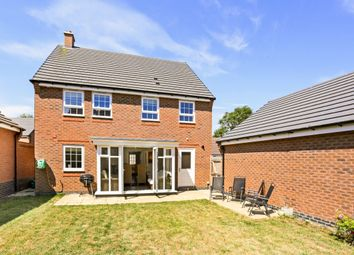 Thumbnail 4 bed detached house to rent in Clun Forest Way, Honeybourne, Evesham