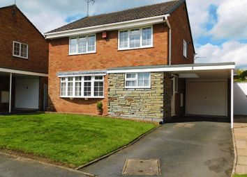Thumbnail 3 bed detached house for sale in Broad Oaks, Moss Pit, Stafford