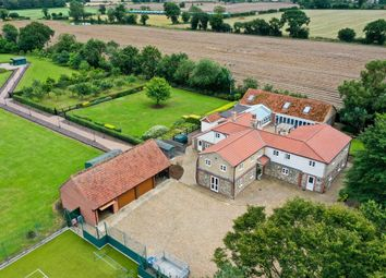 Thumbnail 5 bed detached house for sale in Watton Road, Great Hockham, Thetford