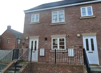 Thumbnail 3 bed end terrace house to rent in 35 Glendower Court, Greenfields, Shrewsbury