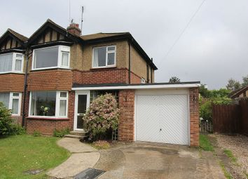 Thumbnail 3 bed semi-detached house for sale in Kensington Road, King's Lynn, Norfolk PE30 4As