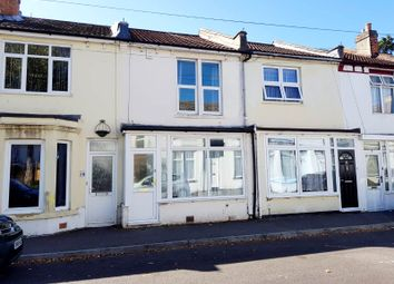 Thumbnail 2 bedroom terraced house for sale in St. Anns Crescent, Gosport