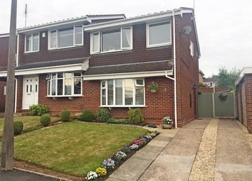 Thumbnail 3 bed semi-detached house for sale in Rookswood Copse, Stafford