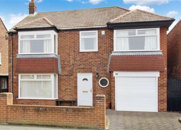 Thumbnail 4 bed detached house for sale in Sandringham Drive, Whitley Bay