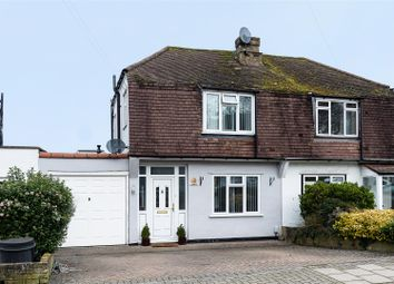 Thumbnail 3 bed semi-detached house for sale in Grasmere Avenue, Farnborough, Orpington