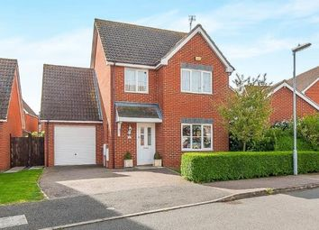 Thumbnail 4 bed detached house for sale in Royce Close, Yaxley, Peterborough, Cambridgeshire